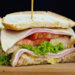 Sandwich Snack casero y rápido