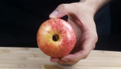 ¿Cómo quitar el corazón a una manzana?