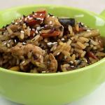 BBowl de arroz parbolizado