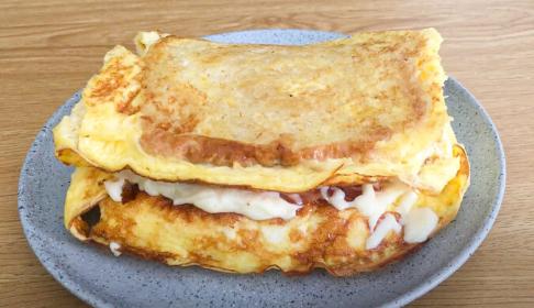 omelette de pan frances
