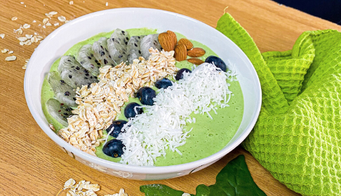 Smoothie bowl verde