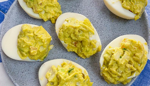 Huevo con guacamole