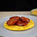 Arepa con Chorizo caramelizado